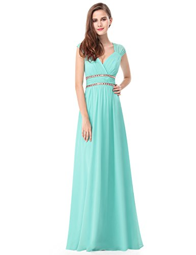 2a055bdcd51 Ever-Pretty Women s Elegant V-Neck Sleeveless Formal Long Evening Dress  08697