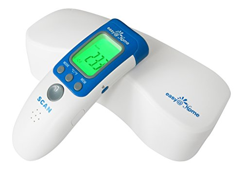 Easy@Home Fingertip Pulse Oximeter with OLED Display in 4