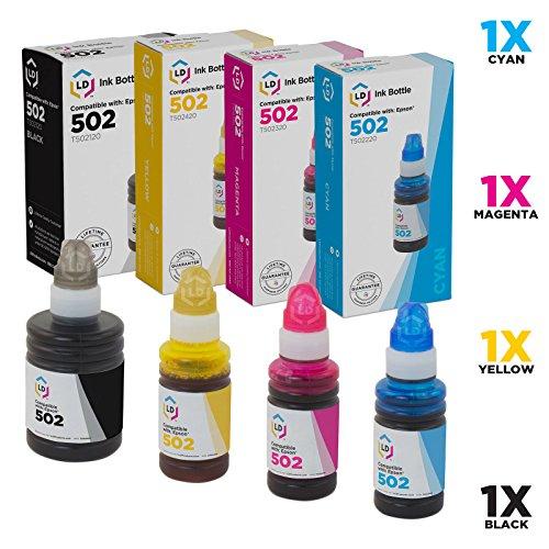 Epson T502 EcoTank Cyan Auto-Stop Ink Bottle ET-2700, ET