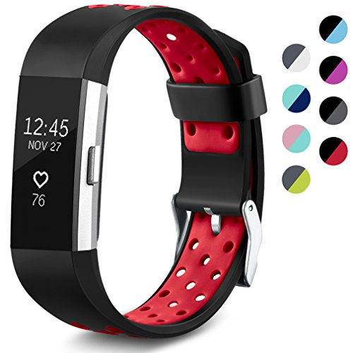 Hanlesi for Fitbit Charge 2 Bands Special Edition Sport Replacement